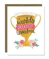 Greatest Grandma Greeting Card