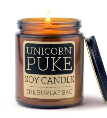 Unicorn Puke 9oz Soy Candle