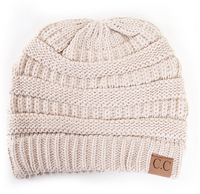 C.C Plain Beanie in Assorted Colors