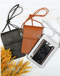 Solid Cellphone Crossbody
