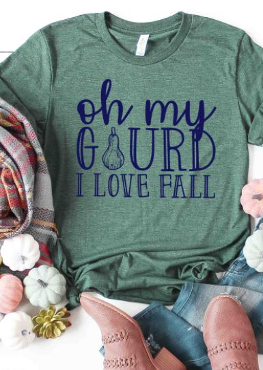 Oh My Gourd Graphic Tee