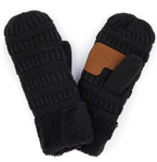 C.C Assorted Sherpa Lined Gloves