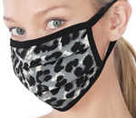 Leopard Print Cotton Mask