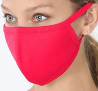 Ruby Red Cotton Mask