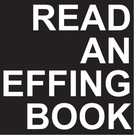 Read an Effing Book Sticker