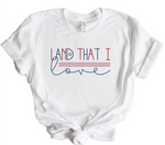 Land That I love Crew Neck Softstyle Tee
