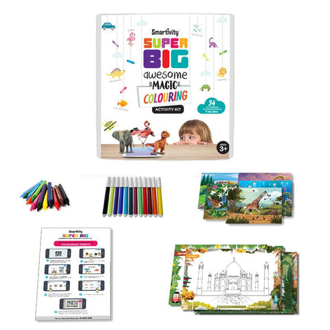 Smartivity Super Big Awesome Magic Colouring Activity Kit