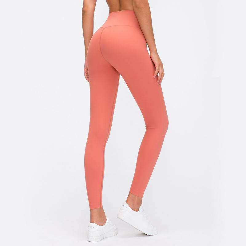 Solid Color Running Trousers Workout Leggings Yoga Pants  Gym Sports Pants