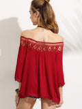 Fierce Chiffon In Red
