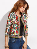 Multicolor Tribal Empowerment Jacket