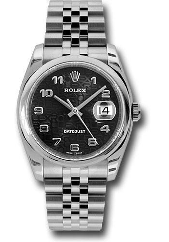 Rolex Oyster Perpetual Datejust 36 Watch 116200 bkjaj