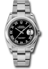 Rolex Oyster Perpetual Datejust 36 Watch 116200 bkro