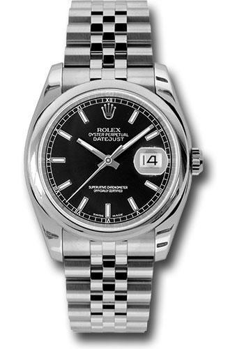 Rolex Oyster Perpetual Datejust 36 Watch 116200 bksj