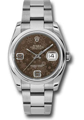 Rolex Oyster Perpetual Datejust 36 Watch 116200 brfao