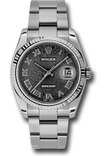 Rolex Oyster Perpetual Datejust 36 Watch 116234 bkjro