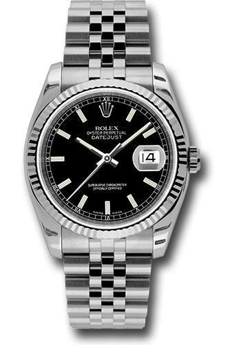Rolex Oyster Perpetual Datejust 36 Watch 116234 bksj