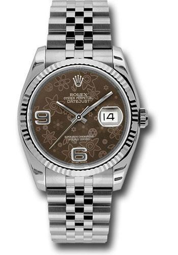 Rolex Oyster Perpetual Datejust 36 Watch 116234 brfaj