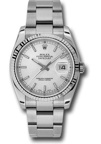 Rolex Oyster Perpetual Datejust 36 Watch 116234 sso
