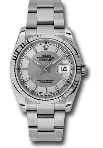 Rolex Oyster Perpetual Datejust 36 Watch 116234 stsiso