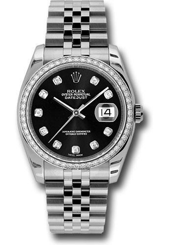 Rolex Oyster Perpetual Datejust 36 Watch 116244 bkdj