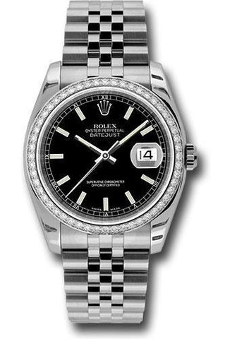 Rolex Oyster Perpetual Datejust 36 Watch 116244 bkij