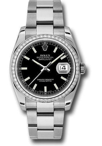Rolex Oyster Perpetual Datejust 36 Watch 116244 bkio