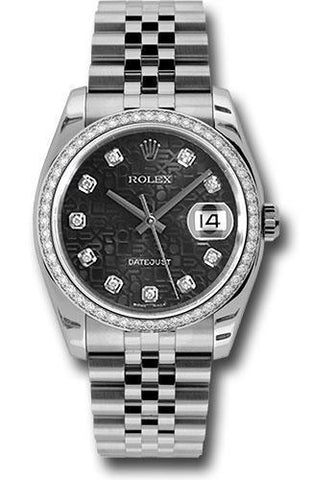 Rolex Oyster Perpetual Datejust 36 Watch 116244 bkjdj