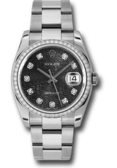 Rolex Oyster Perpetual Datejust 36 Watch 116244 bkjdo