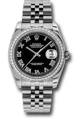 Rolex Oyster Perpetual Datejust 36 Watch 116244 bkrj