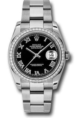 Rolex Oyster Perpetual Datejust 36 Watch 116244 bkro