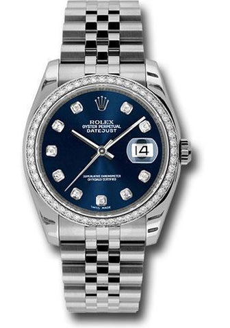 Rolex Oyster Perpetual Datejust 36 Watch 116244 bldj