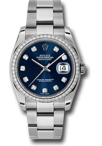 Rolex Oyster Perpetual Datejust 36 Watch 116244 bldo