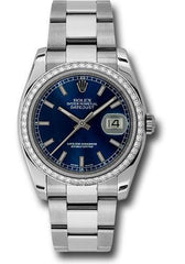 Rolex Oyster Perpetual Datejust 36 Watch 116244 blio