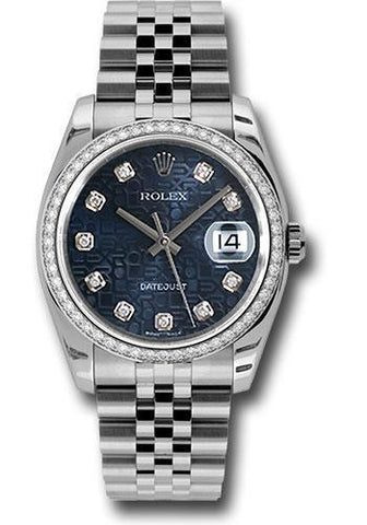 Rolex Oyster Perpetual Datejust 36 Watch 116244 bljdj