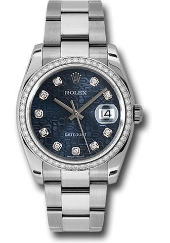 Rolex Oyster Perpetual Datejust 36 Watch 116244 bljdo