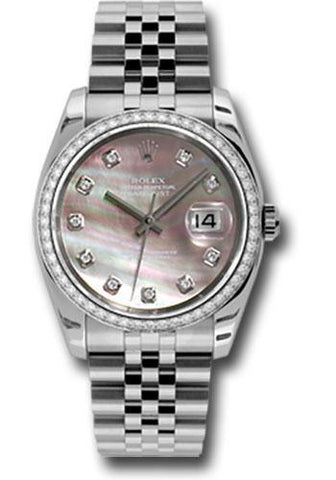 Rolex Oyster Perpetual Datejust 36 Watch 116244 dkmdj