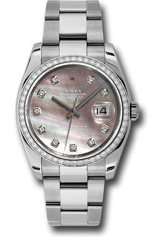 Rolex Oyster Perpetual Datejust 36 Watch 116244 dkmdo