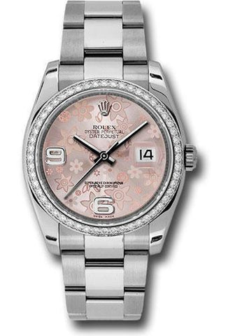 Rolex Oyster Perpetual Datejust 36 Watch 116244 pfao