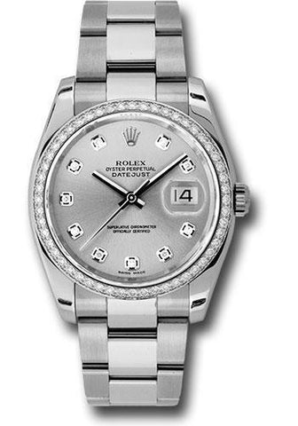 Rolex Oyster Perpetual Datejust 36 Watch 116244 sdo