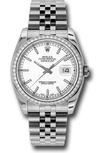 Rolex Oyster Perpetual Datejust 36 Watch 116244 wij