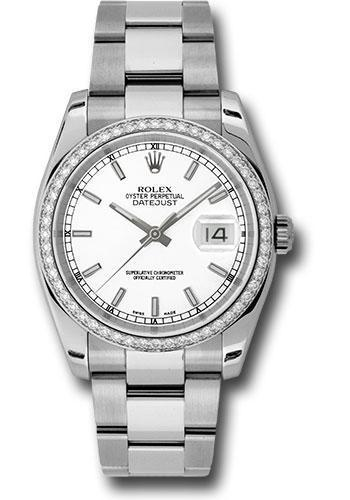 Rolex Oyster Perpetual Datejust 36 Watch 116244 wio
