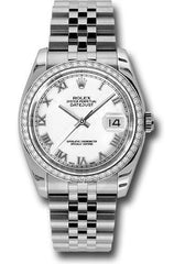 Rolex Oyster Perpetual Datejust 36 Watch 116244 wrj