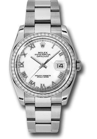 Rolex Oyster Perpetual Datejust 36 Watch 116244 wro