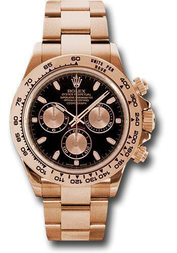 Rolex Oyster Perpetual Cosmograph Daytona 116505 bk