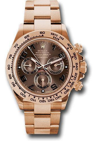 Rolex Oyster Perpetual Cosmograph Daytona 116505 choc