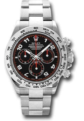 Rolex Oyster Perpetual Cosmograph Daytona 116509 bk