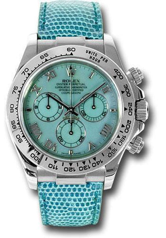 Rolex Oyster Perpetual Cosmograph Daytona Beach Special Edition 116519 blue