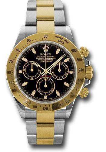 Rolex Oyster Perpetual Cosmograph Daytona 116523 bks