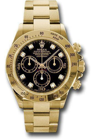 Rolex Oyster Perpetual Cosmograph Daytona 116528 bkd