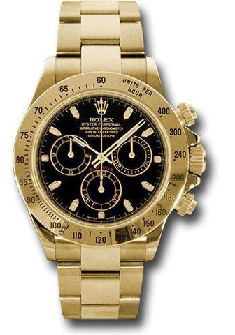 Rolex Oyster Perpetual Cosmograph Daytona 116528 bks